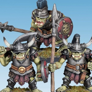 Orc Axe and Spears