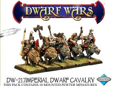 Imperial Dwarf Cavalry (3)