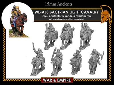 Later Persian, Bactrian Light Cavalry