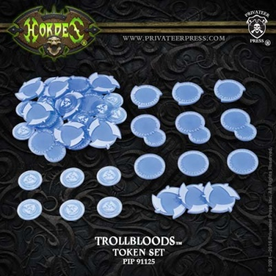 HORDES Trollbloods Faction Tokens 2016