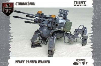 Dust Tactics: Heavy Assault Walker - Sturm König (Axis)