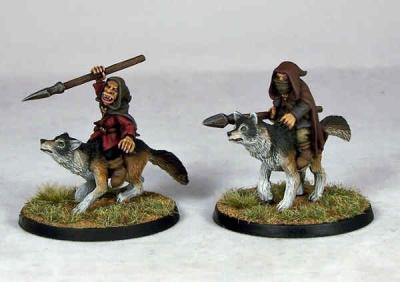 Goblin Wolfriders I (2)
