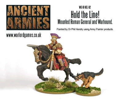Hold the Line! - Mounted Roman General and Wardog