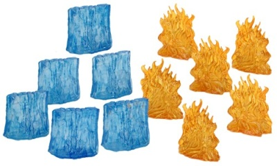 D&D: Wall of Fire & Wall of Ice (6)