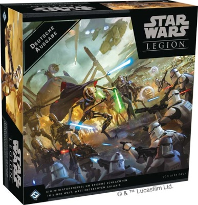 SW: Legion - Clone Wars Grundspiel (DE)