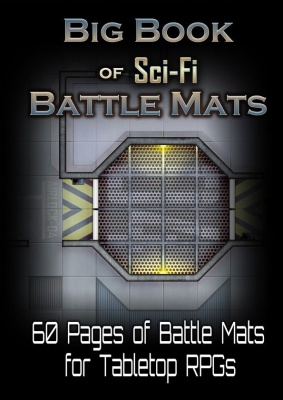 Big Book of Sci-Fi Battle Mats (A4)