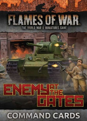 Enemy at the Gates Command Cards