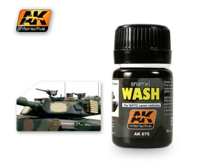 Wash For NATO Camo Vehicles