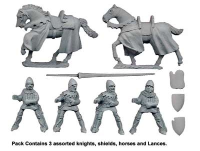 Mounted Knights with Lances (3)