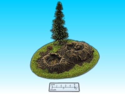 Geländestück 2 Krater