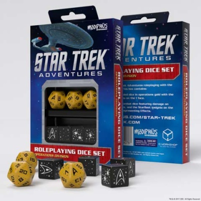 Star Trek Adventures: Operations Division Dice Set