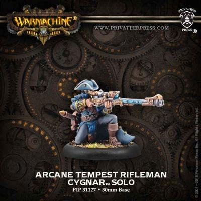 Cygnar Arcane Tempest Rifleman Solo