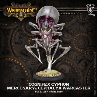 Mercenary Cephalyx Warcaster Cognifex Cyphon