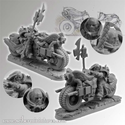 28mm SF Angel Knight Motorcycle #2