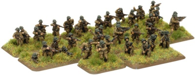 French Infantry Platoon with 3 squads