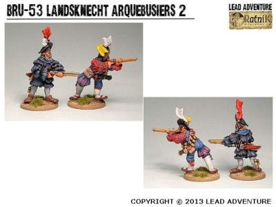 Landsknecht Arquebusiers 2 (2)