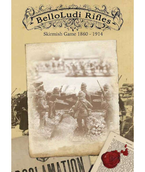 BelloLudi rifles Skirmish Game (1860-1914)
