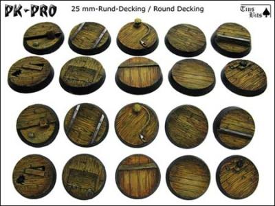 Decking 25mm rund (10)
