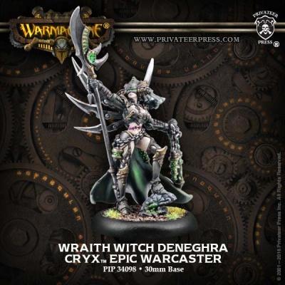 Cryx Epic Wraith Witch Deneghra