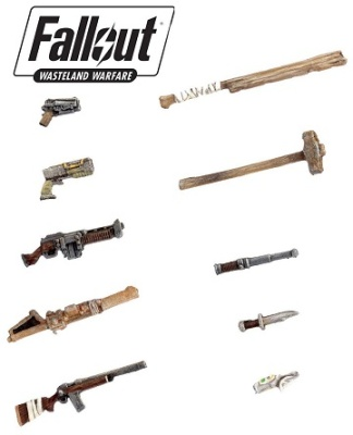 Fallout: Terrain Expansion: Weapon Sprue