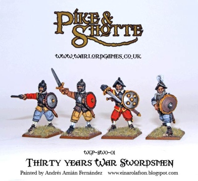 Thirty Years War Swordsmen (8)