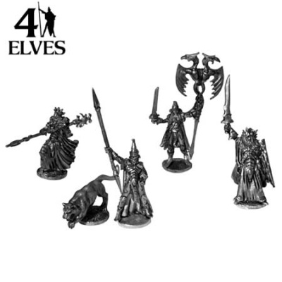 Elf Kings Court (5 metal models)