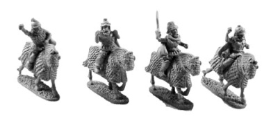 Maccabean Mounted Generals (4)