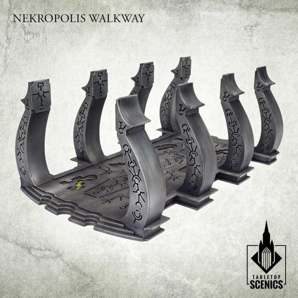 Nekropolis Mastaba - Nekropolis Walkway