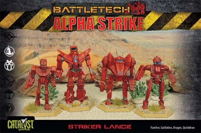 BattleTech Alpha Strike:Striker Lance Pack