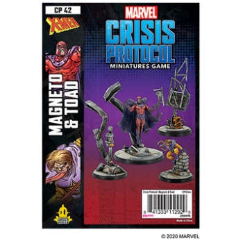 Marvel Crisis Protocol: Magneto and Toad - EN