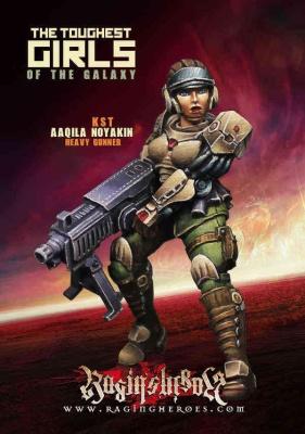 Aaqila Noyakin, Heavy Gunner (KST)