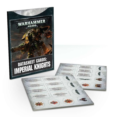 Datasheet Cards: Imperial Knights ENGLISCH
