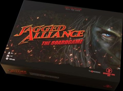 Jagged Alliance Boardgame