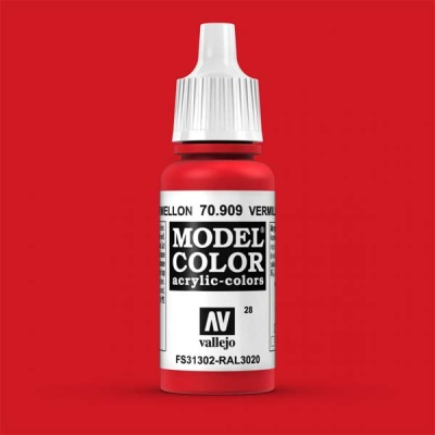 Model Color 028 Verkehrsrot (Vermillion Red) (909)
