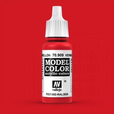 Model Color 028 Verkehrsrot (Vermillion Red) (909)
