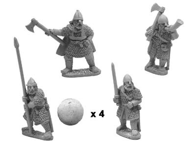 Varangians command in full armour (4)