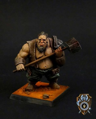 Talliareum Mercenary Ogre Mining Guard
