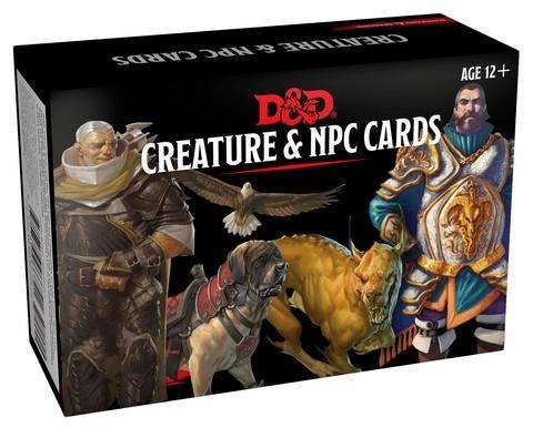 D&D: Monster Cards: NPCs & Creatures (182 cards)