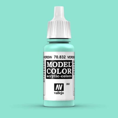 Model Color 202 Lasurtürkis (Verdigris Glaze) (832)