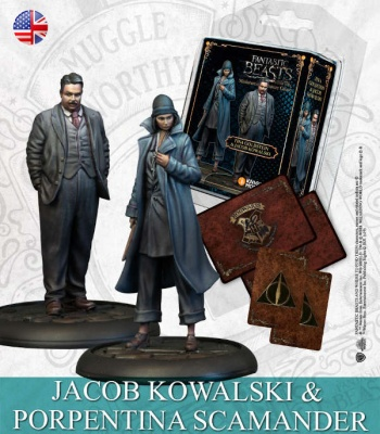 Harry Potter: Tina Goldstein & Jacob Kowalski