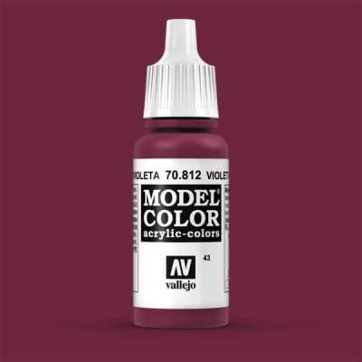 Model Color 043 Violett (Violet Red) (812)