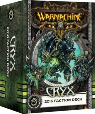 WARMACHINE Cryx 2016 Faction Deck