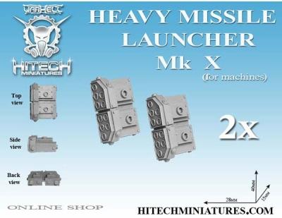 Heavy Missile Launcher MK X (set 2)