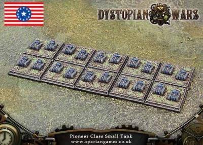FSA Pioneer Class Small Tank (20) (OOP)