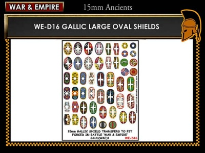 Gallic large oval shields