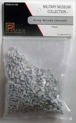28mm Terrain: Small Grey Bricks