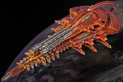 Shaltari Diamond/ Platinum Battleship