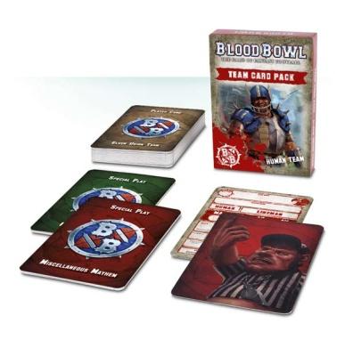 Teamkarten für Blood Bowl: Menschliches Team