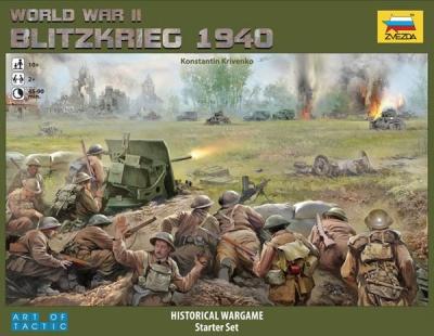 World War II. Blitzkrieg 1940