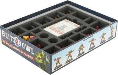 Schaumstoff-Set für Blitz Bowl Brettspielbox